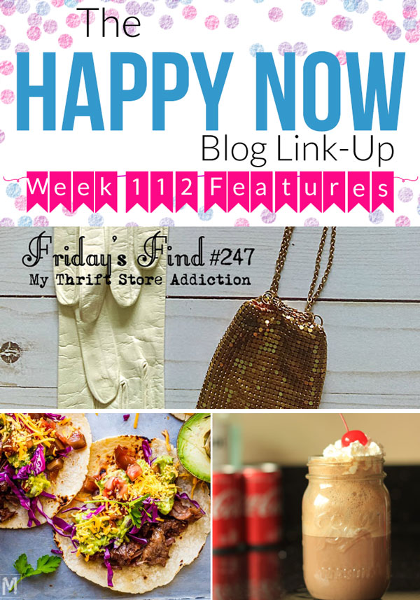 Looking for more happy in your life? Share your own happy posts and see those of others at the Happy Now Link Up every Tuesday through Saturday. #bloggingtips #linkparty #linkup #blogging