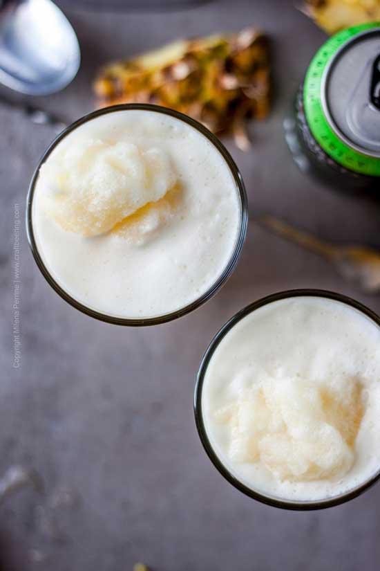 Juicy IPA Pineapple Slushie from Craft Beering.