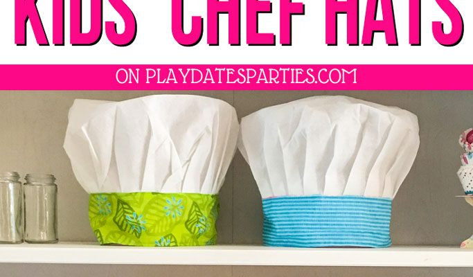How to Make the Most Adorable Kids Chef Hat | Easy Crafts
