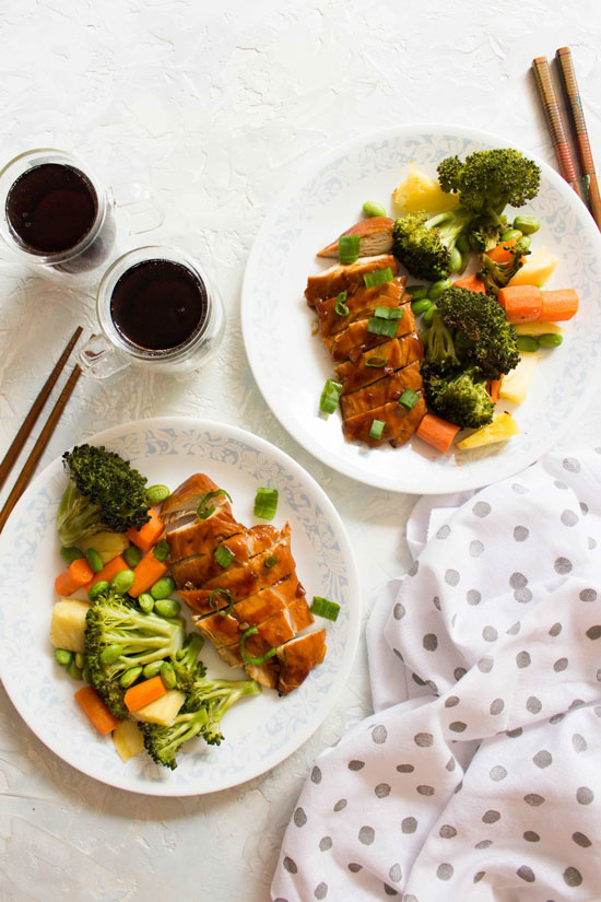 Sheet Pan Recipes: Chicken Teriyaki with Vegetables
