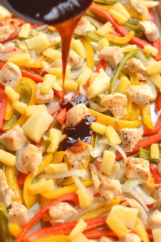 Sheet Pan Recipes: Sweet and Sour Chicken