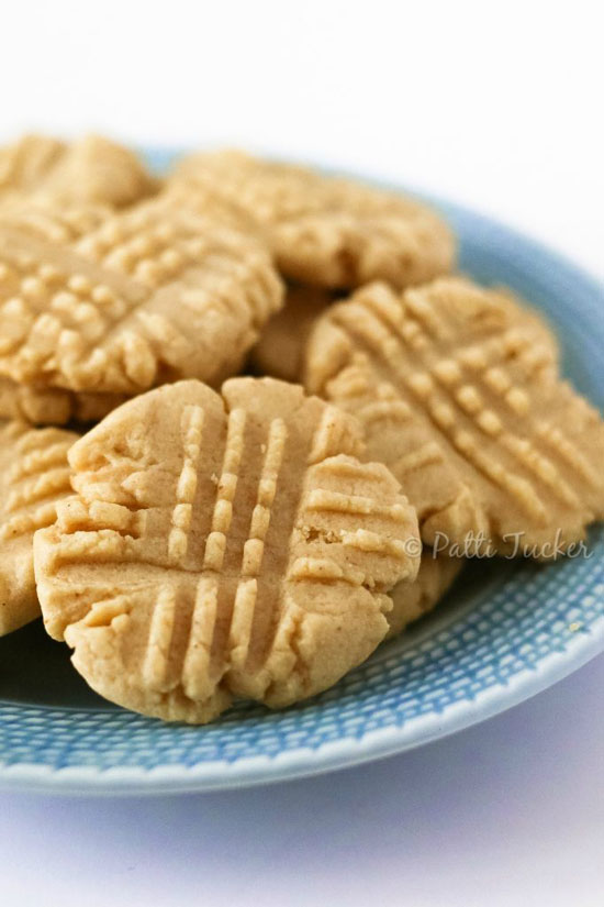 How To Make a More Natural Peanut Butter Cookie from Oh Mrs. Tucker.