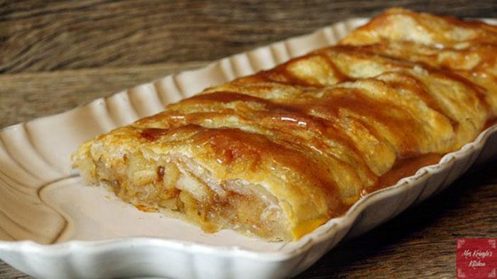 Apple Puff Pastry Tart from Mrs. Kringle's Kitchen.