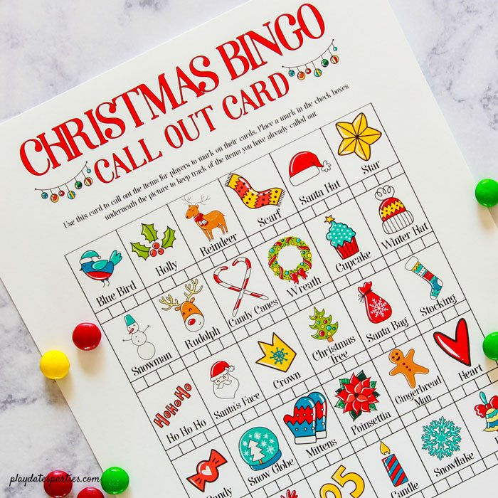 photograph about Free Christmas Bingo Cards Printable identified as Totally free Printable Xmas Bingo Playing cards for Children