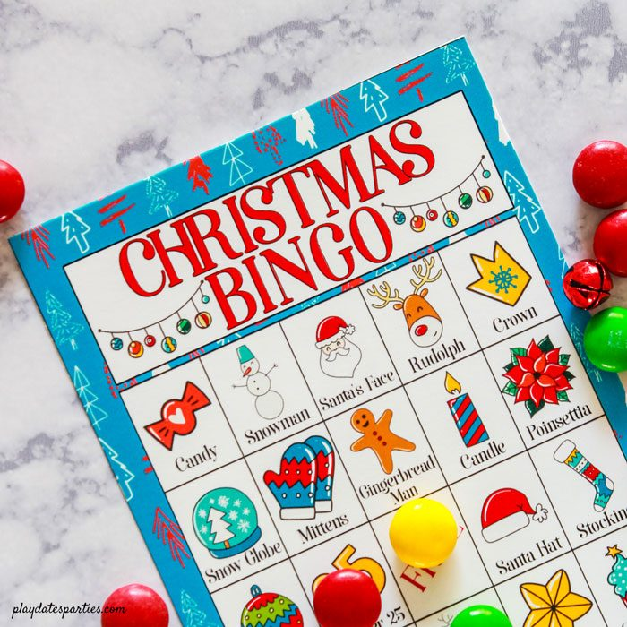 image regarding Free Printable Christmas Bingo Cards titled Totally free Printable Xmas Bingo Playing cards for Young children