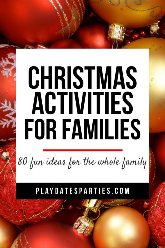 Christmas Activities for Families to Do During Advent