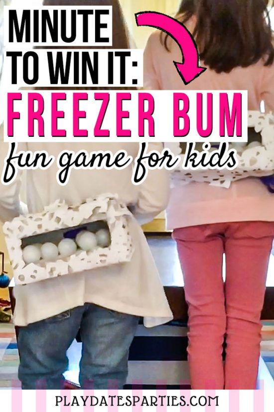 Freezer Bum | A Fun Winter Take on the Junk in the Trunk Game