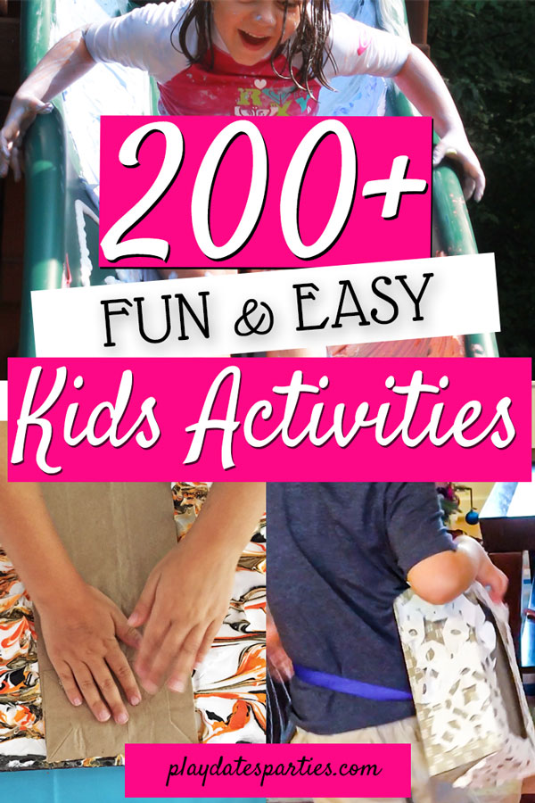 Want to keep the kids busy and happy? Here's where you'll find LOADS of kids crafts and kids activities for the whole year. Including indoor winter boredom busters and party games, fun outdoor activities for a summer at home, teaching kids about cooking and food, and tons of other cheap and easy DIY ideas.