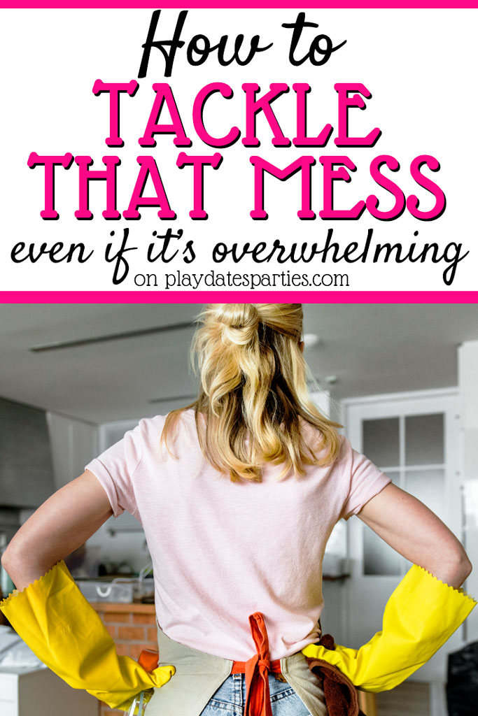 Sometimes it's so hard to figure out how to get motivated to clean when overwhelmed by mess from kids and just life in general. Here are 17 awesome organization tips and tricks for the home from experts who have been there. Hear their thoughts on simple ways to make sure you declutter and organize your house and your life. #organized #homeorganization #tips