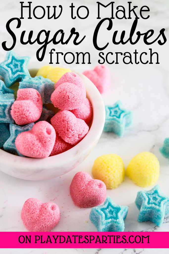How to Make Sugar Cubes from Scratch