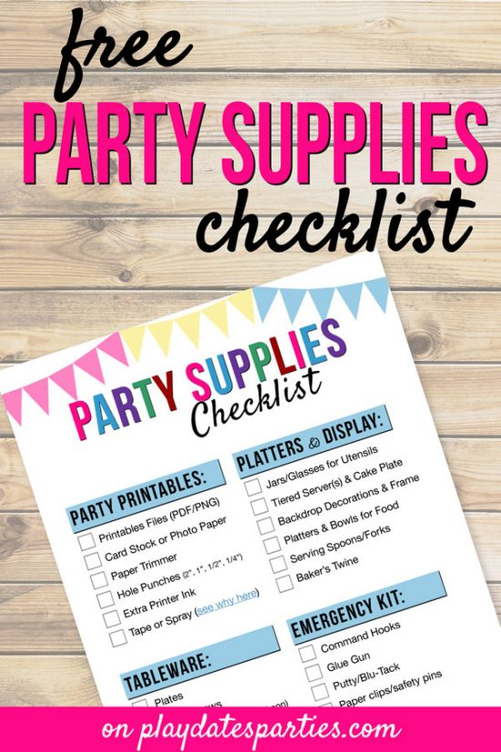 Hostess Toolkit - From Play Dates to Parties