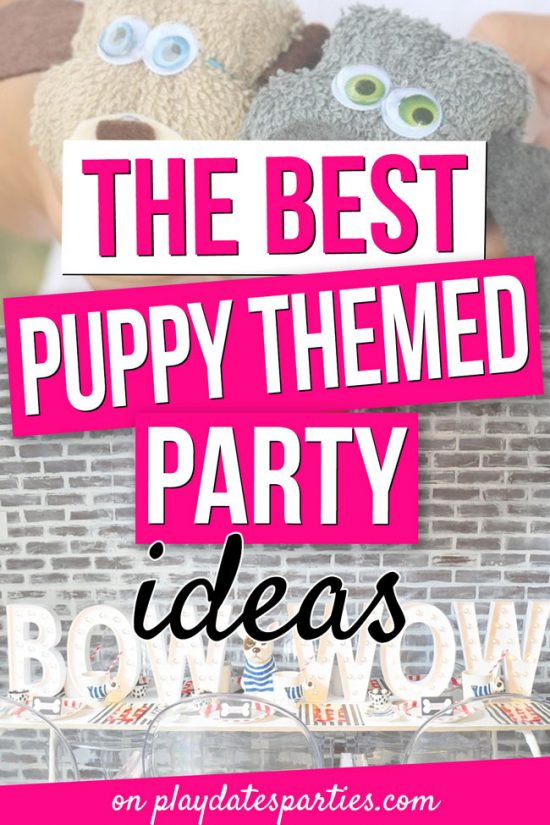 The Best Puppy Themed Birthday Party Ideas