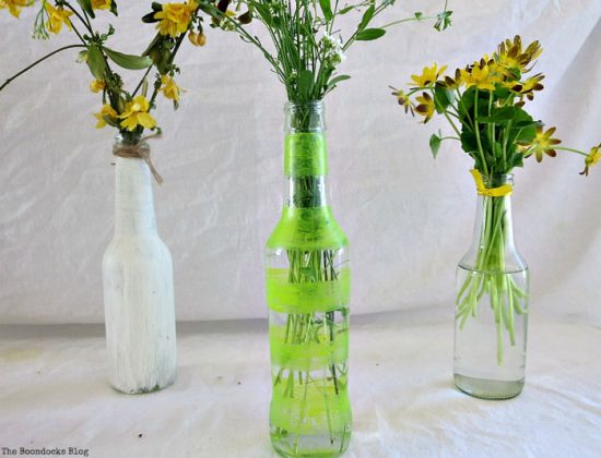 My Spring Roll Bottles by The Boondocks Blog