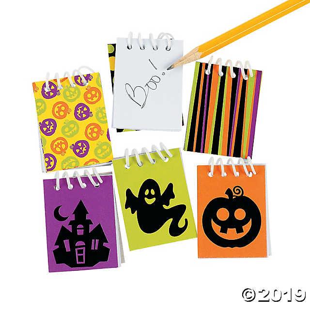 Halloween Mini Spiral Notepads