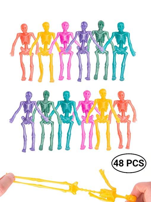 Stretchy Glitter Skeleton