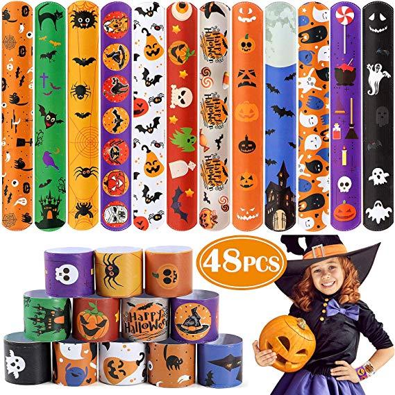 Halloween Slap Bracelets