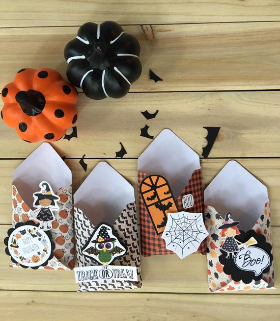 Halloween Treat Bags/Favor Boxes