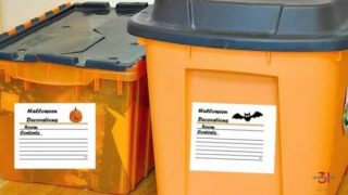 Free Halloween Storage Labels