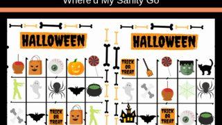 Halloween Bingo Printable for Fun Class Parties