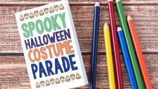 Free Printable Mini Halloween Coloring Book