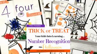 Spooktacular Halloween Printable Number Games