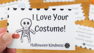 Halloween Kindness Cards