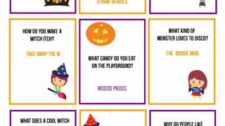 Free Printable Halloween Lunchbox Jokes