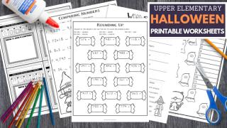 Halloween Worksheets for Upper Elementary