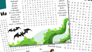 Spooktacular Halloween Word Searches