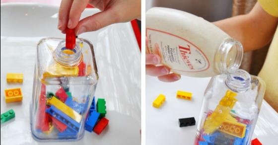 DIY LEGO Soap or Hand Sanitizer