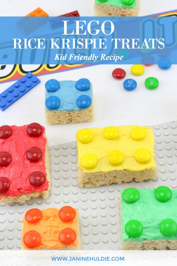 Lego Rice Krispie Treat Bricks