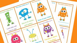 Printable Halloween Coupons for Kids