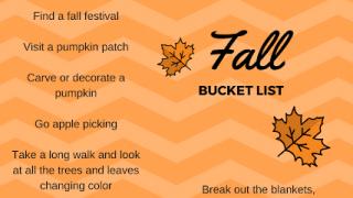 Free Printable Fall Bucket List!