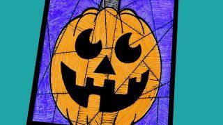 Free Printable Halloween Happy Pumpkin Craft