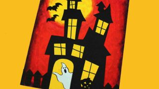 Free DIY Haunted House Craft