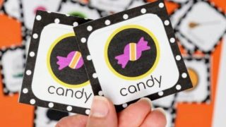 Halloween Memory Match Game for All Ages