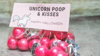 DIY Halloween Unicorn Printables