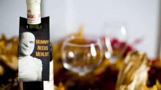 Mummy needs Merlot! wine gift tag