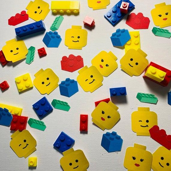 Custom LEGO Party Confetti Mix