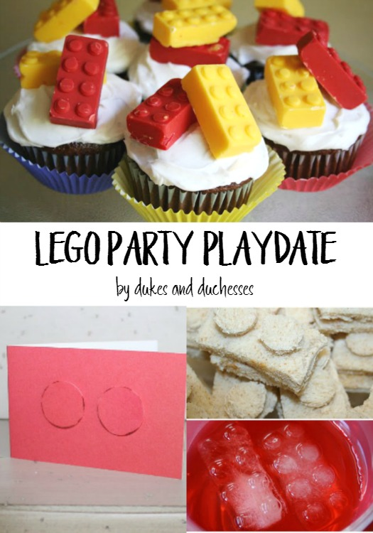 A Lego Party Playdate