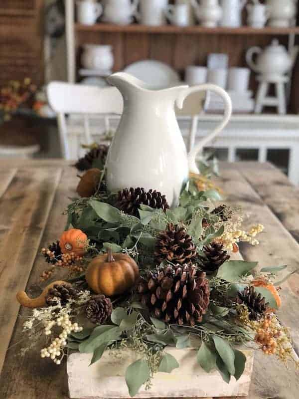 The Perfect Farmhouse Centerpiece