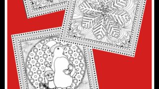 Free Christmas Adult Coloring Pages To Beat Holiday Stress