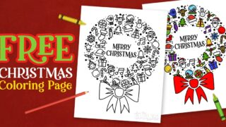 FREE Christmas Coloring Printable - Great for Classroom Holiday Parties!