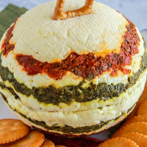 Ornament Cheese Ball for Christmas