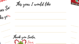 Free Dear Santa Letter Printables And How To Send It To Santa