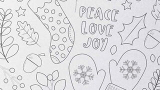 Free Printable Christmas Colouring Page - Fun and Relaxing!