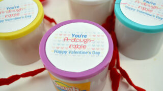 You're A-Dough-Rable Valentine Gift Craft For Kids - COAM