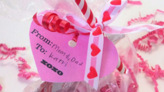 Valentine's Day Hot Chocolate Treat Bag