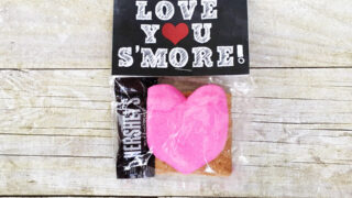 Love you S'more Printable Valentine Printable
