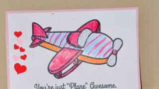 Free Plane Printables for Valentine's Day